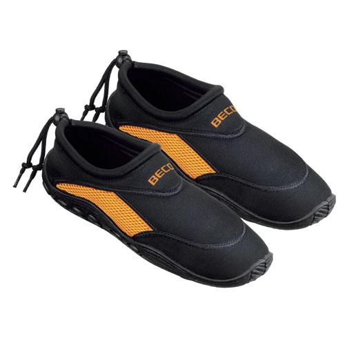 Bleu Avec Des Chaussures Noires D'eau Pour Les Adultes Fzhgr0iU