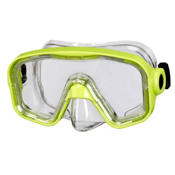 77d998973a1ee0 BECO kinder duikbril Bahia, geel, 12+