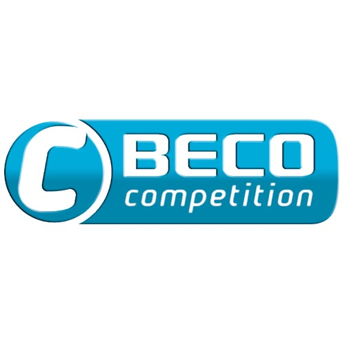 BECO Competition zwembroek, zwart/wit/rood